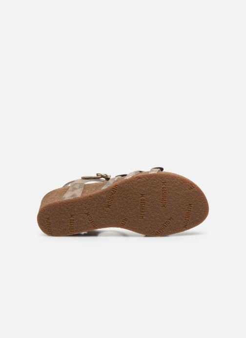 Sandales et nu-pieds Mephisto Matilde C Marron vue haut