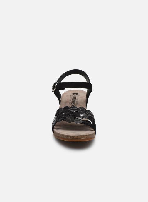 Sandales et nu-pieds Mephisto Matilde C Noir vue portées chaussures