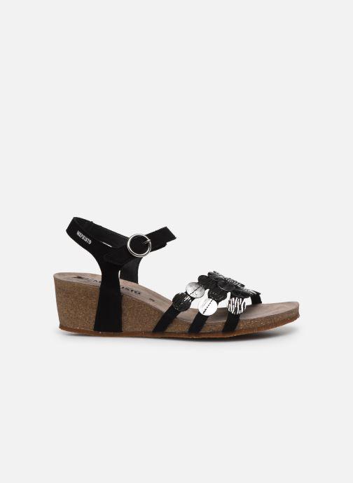 Sandales et nu-pieds Mephisto Matilde C Noir vue derrière