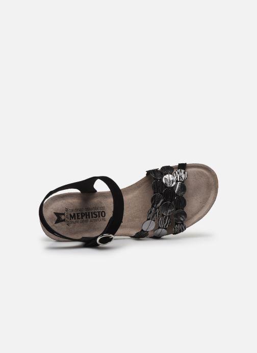 Sandales et nu-pieds Mephisto Matilde C Noir vue gauche