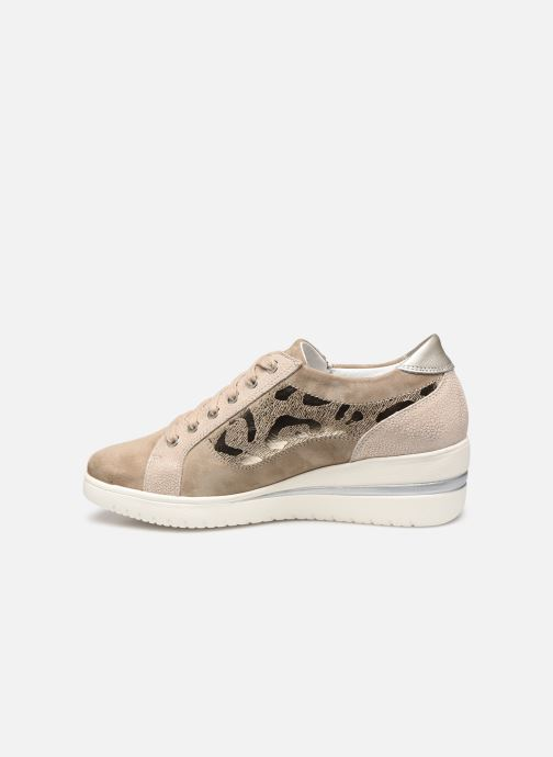 Sneakers Mephisto Patsy Shiny C Beige voorkant