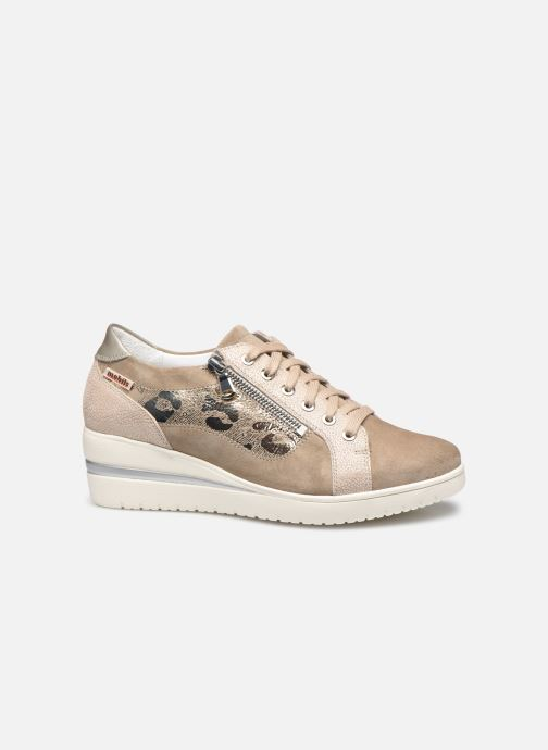 Sneakers Mephisto Patsy Shiny C Beige achterkant