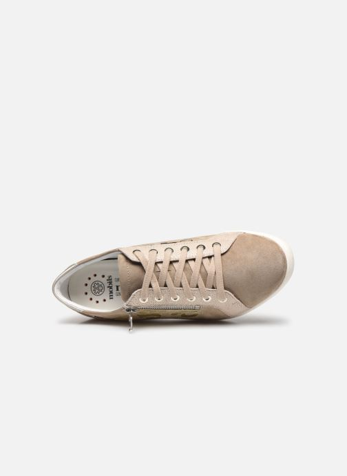 Sneakers Mephisto Patsy Shiny C Beige immagine sinistra