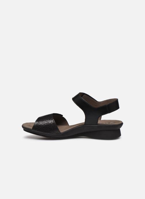 Sandales et nu-pieds Mephisto Pattie C Noir vue face