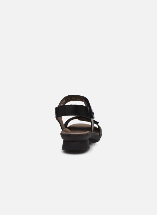 Sandales et nu-pieds Mephisto Pattie C Noir vue droite