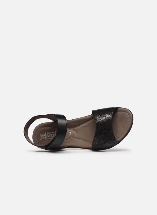 Sandales et nu-pieds Mephisto Pattie C Noir vue gauche