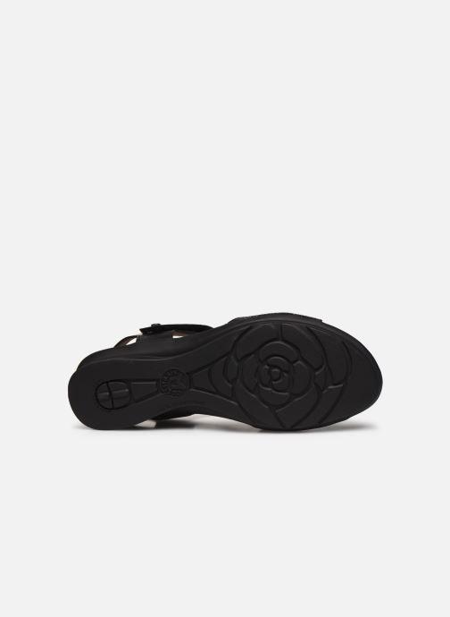 Sandales et nu-pieds Mephisto Pattie C Noir vue haut