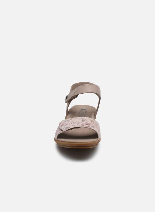 Sandales et nu-pieds Mephisto Pattie C Beige vue portées chaussures