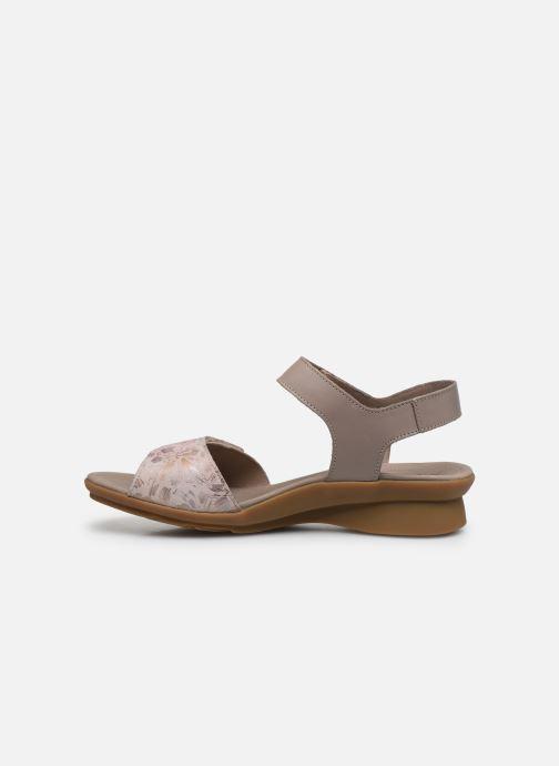 Sandales et nu-pieds Mephisto Pattie C Beige vue face