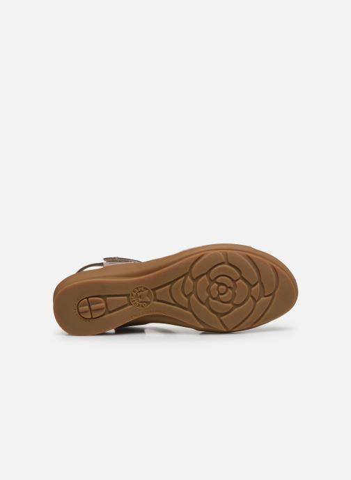 Sandales et nu-pieds Mephisto Pattie C Beige vue haut