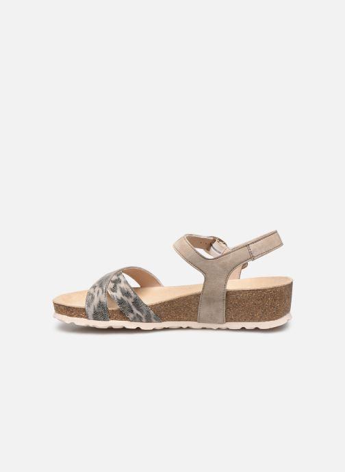 Sandali e scarpe aperte Mephisto Stela C Grigio immagine frontale