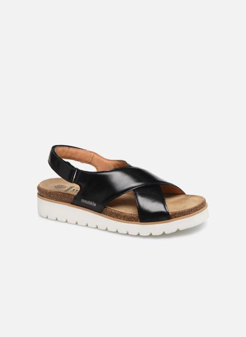 Sandales et nu-pieds Mephisto Tally C Noir vue détail/paire