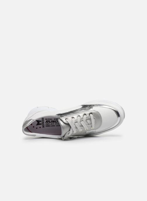 Sneakers Mephisto Ylona C Bianco immagine sinistra