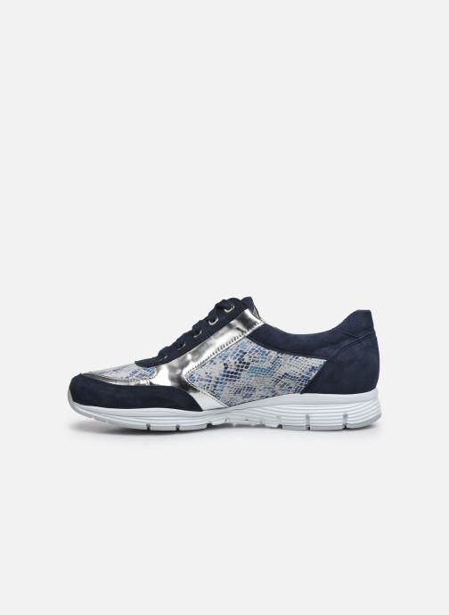 Sneaker Mephisto Ylona C blau ansicht von vorne