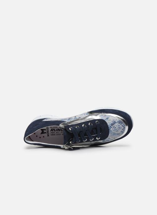 Sneaker Mephisto Ylona C blau ansicht von links