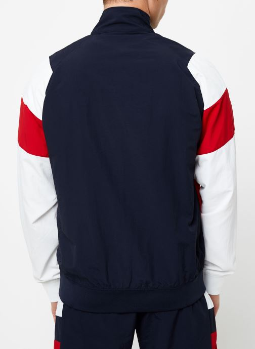 Kleding Champion Full Zip sweatshirt Tricolore Zwart model