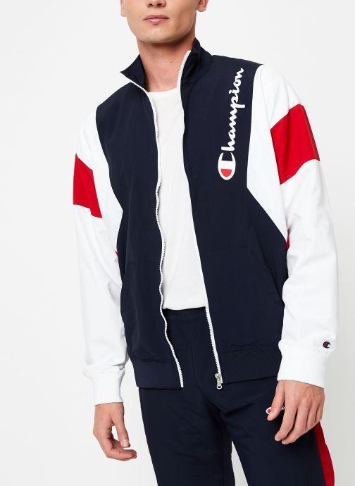 Kleding Champion Full Zip sweatshirt Tricolore Zwart detail