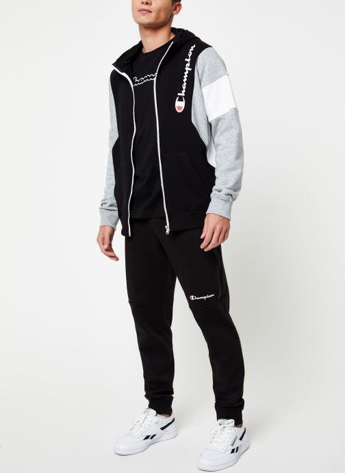 Kleding Champion Full Zip sweatshirt Tricolore Zwart onder