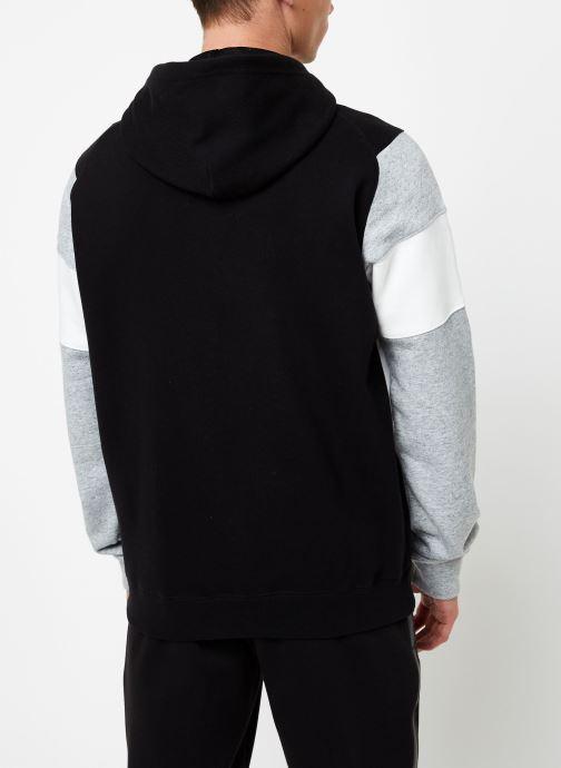 Kleding Champion Full Zip sweatshirt Tricolore Zwart model