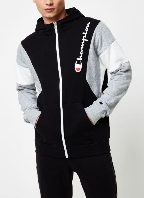 Kleding Champion Full Zip sweatshirt Tricolore Zwart rechts