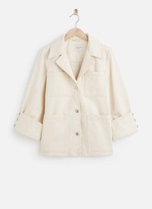 Vêtements Accessoires SLFHELENA JADE WHITE DENIM JACKET W