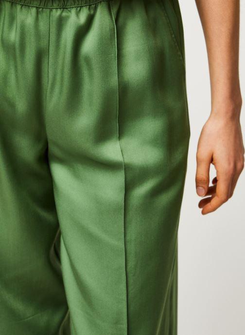 Kleding Selected Femme SLFTASIA MW PANT B Groen voorkant