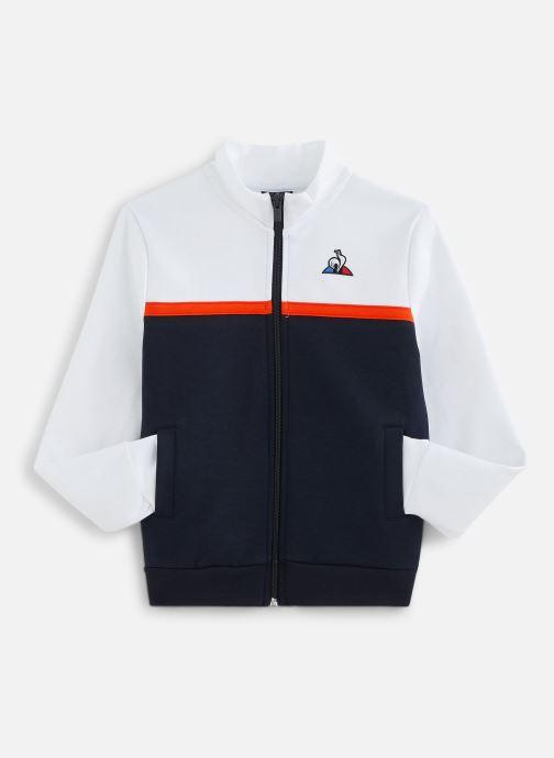 Vêtements Le Coq Sportif TECH FZ Sweat N°1 Enfant Blanc vue détail/paire
