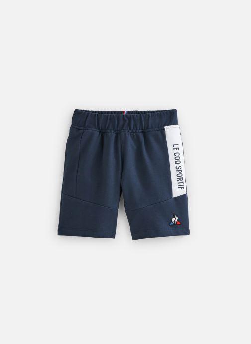 Vêtements Le Coq Sportif ESS Short Regular N°3 Enfant Bleu vue détail/paire