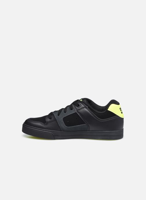 Sneaker DC Shoes Pure E schwarz ansicht von vorne