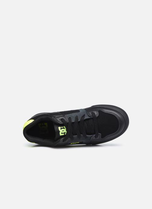 Sneaker DC Shoes Pure E schwarz ansicht von links