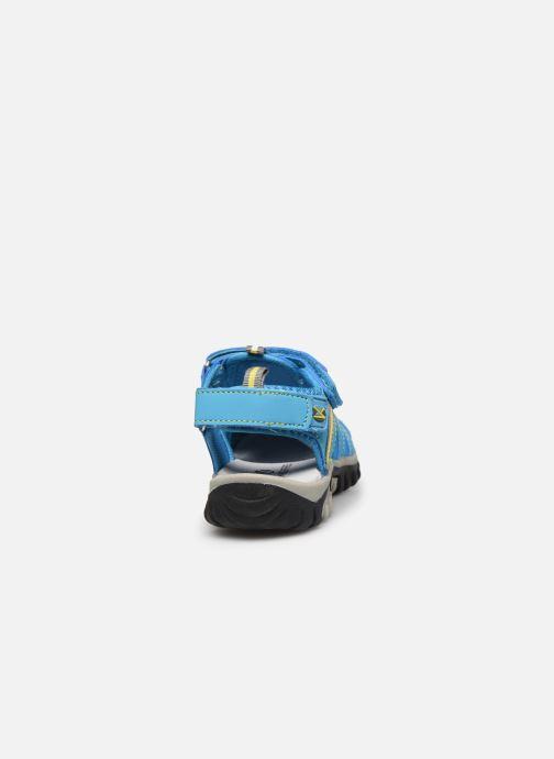 Sandales et nu-pieds Kimberfeel Cabana Bleu vue droite