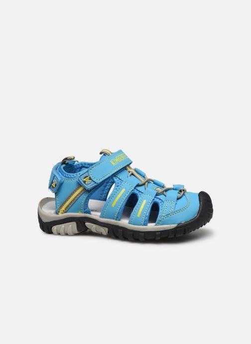 Sandales et nu-pieds Kimberfeel Cabana Bleu vue derrière
