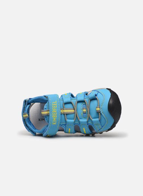 Sandales et nu-pieds Kimberfeel Cabana Bleu vue gauche