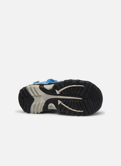 Sandales et nu-pieds Kimberfeel Cabana Bleu vue haut