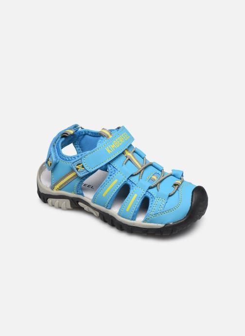 Sandales et nu-pieds Kimberfeel Cabana Bleu vue détail/paire
