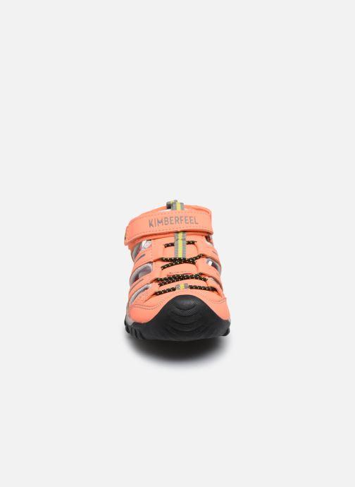 Sandales et nu-pieds Kimberfeel Cabana Orange vue portées chaussures