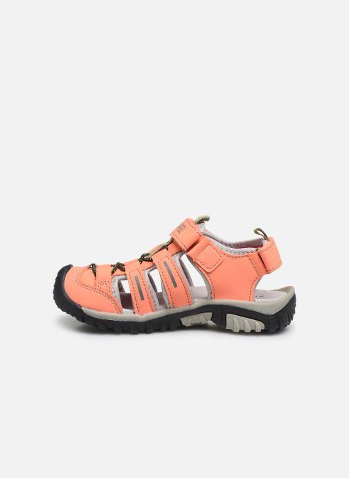 Sandales et nu-pieds Kimberfeel Cabana Orange vue face