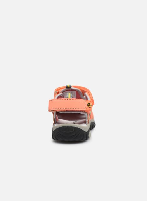Sandales et nu-pieds Kimberfeel Cabana Orange vue droite