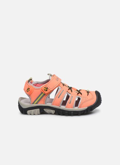 Sandales et nu-pieds Kimberfeel Cabana Orange vue derrière