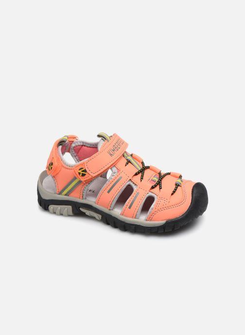 Sandales et nu-pieds Kimberfeel Cabana Orange vue détail/paire