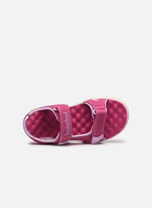 Sandali e scarpe aperte Timberland Perkins Row Strap Sandal Rebotl Rosa immagine sinistra