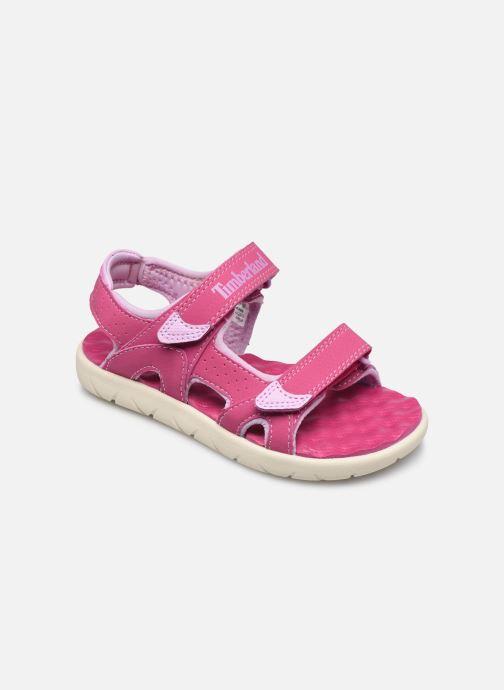 Sandales et nu-pieds Timberland Perkins Row Strap Sandal Rebotl Rose vue détail/paire