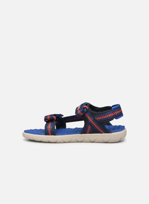 Sandales et nu-pieds Timberland Perkins Row Sandal Rebotl Bleu vue face