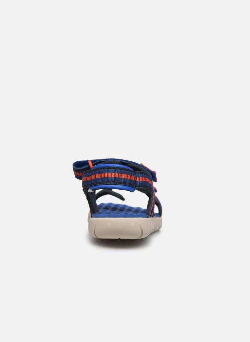 Sandales et nu-pieds Timberland Perkins Row Sandal Rebotl Bleu vue droite
