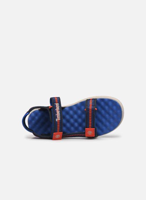 Sandales et nu-pieds Timberland Perkins Row Sandal Rebotl Bleu vue gauche