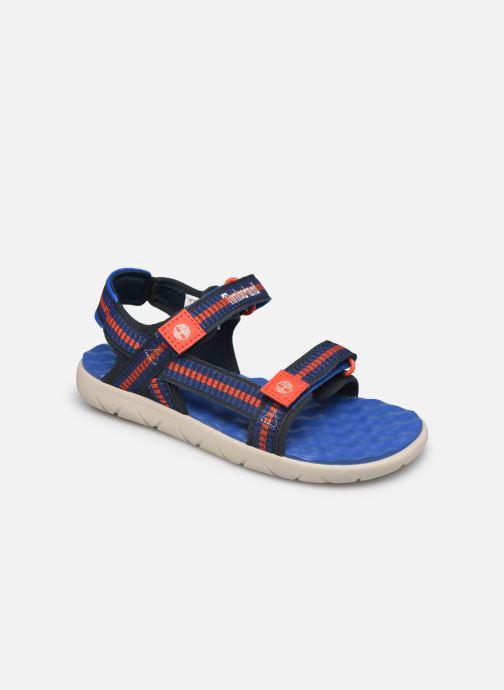 Sandales et nu-pieds Timberland Perkins Row Sandal Rebotl Bleu vue détail/paire