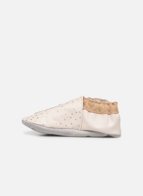 Chaussons Robeez Water Ice Beige vue face