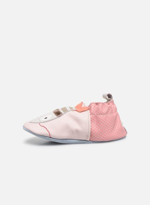 Chaussons Robeez Fishy Rose vue face