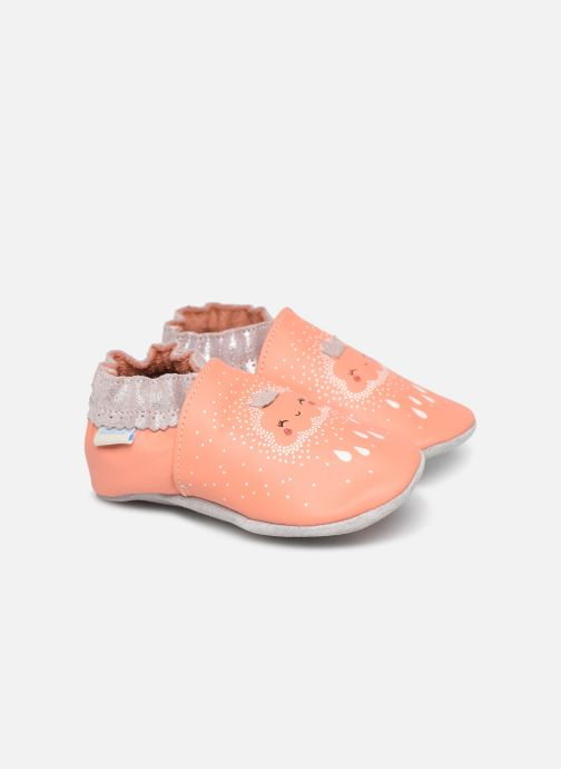 Slippers Robeez Princess of Sky Pink detailed view/ Pair view