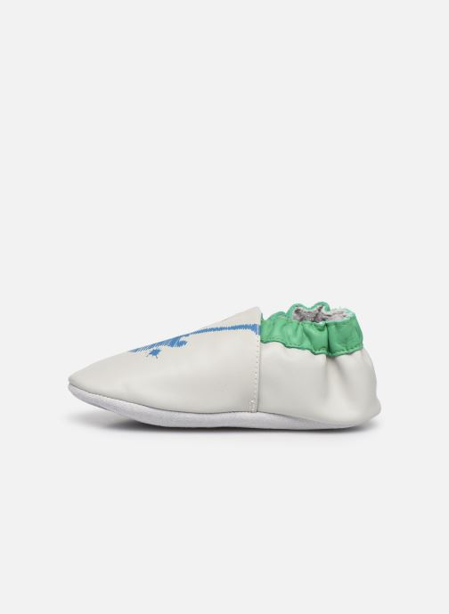 Pantofole Robeez Good Vibes Verde immagine frontale